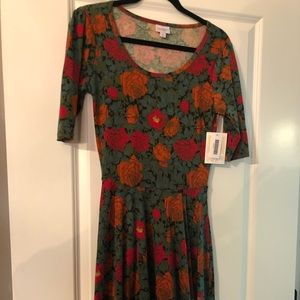 Lularoe Nicole Dress Medium